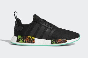 adidas nmd r1Gets Palm Trees Added To The Midsole: Details