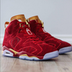 "Check Out This Red ""Doernbecher"" Air Jordan 6 Custom"