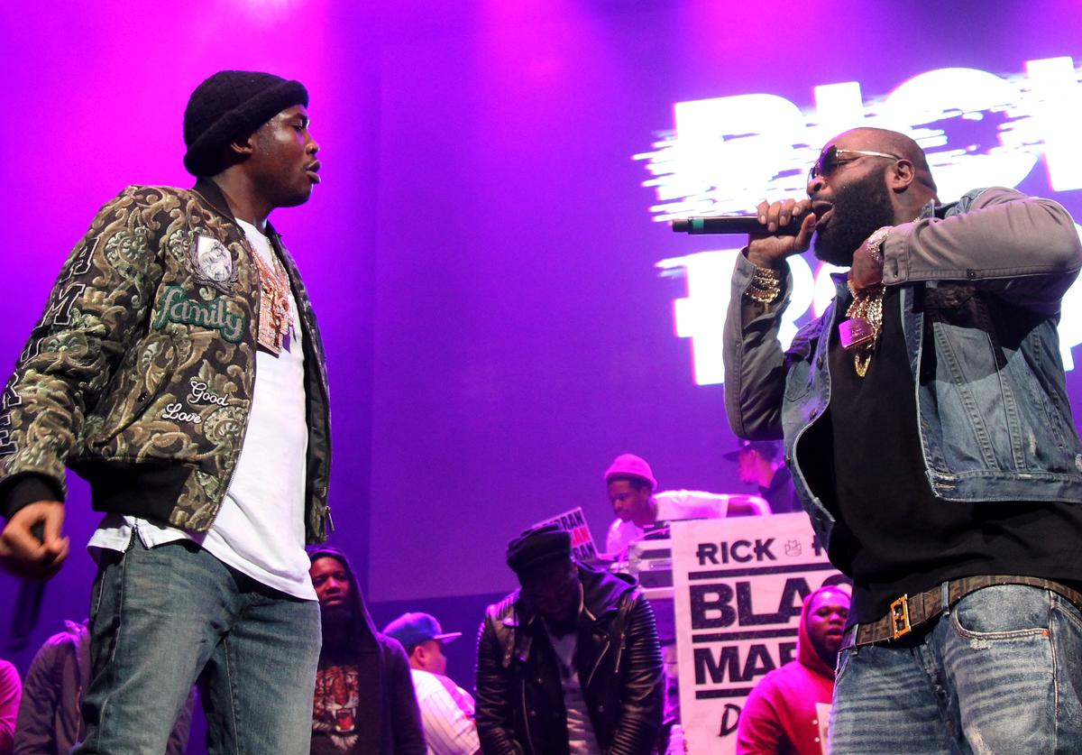 Rick Ross and Meek Mill at Power 105.1's Powerhouse 2015