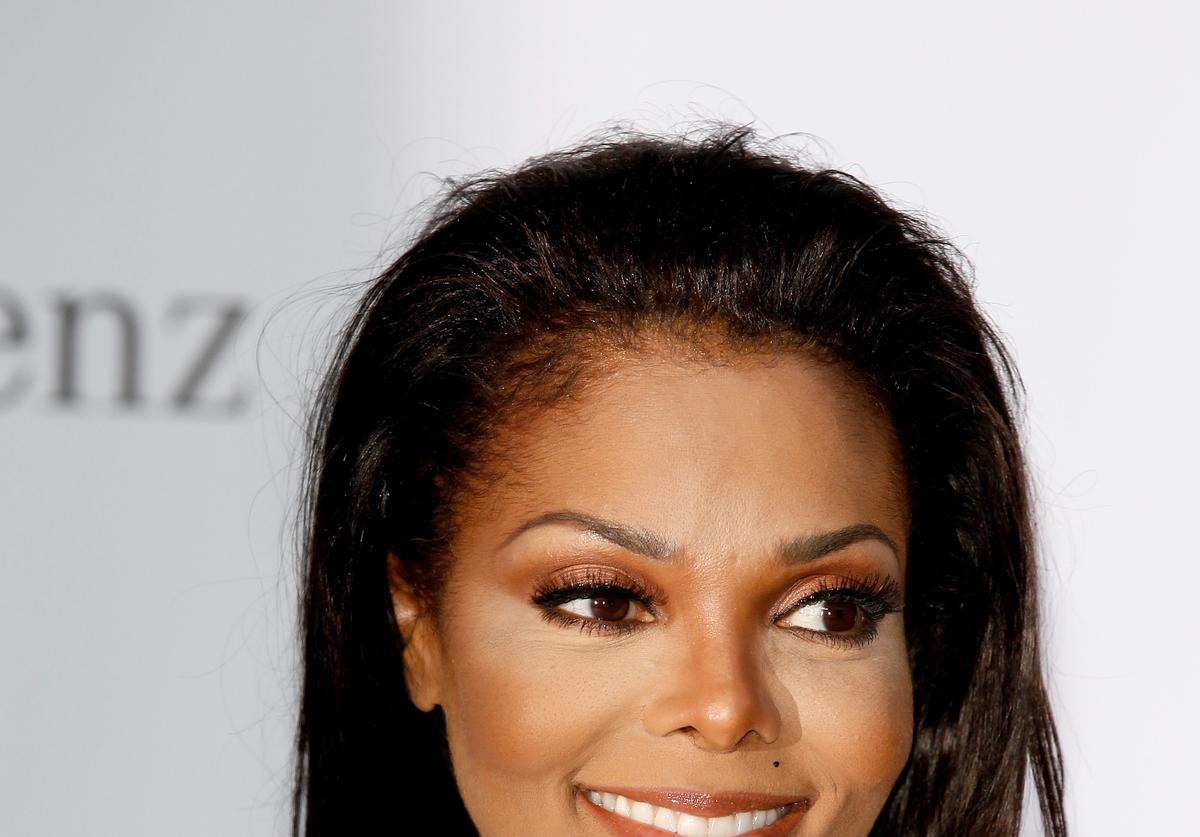 Janet Jackson arrives at the 2012 amfAR's Cinema Against AIDS during the 65th Annual Cannes Film Festival at Hotel Du Cap on May 24, 2012 in Cap D'Antibes, France. (Photo by Andreas Rentz/Getty Images)