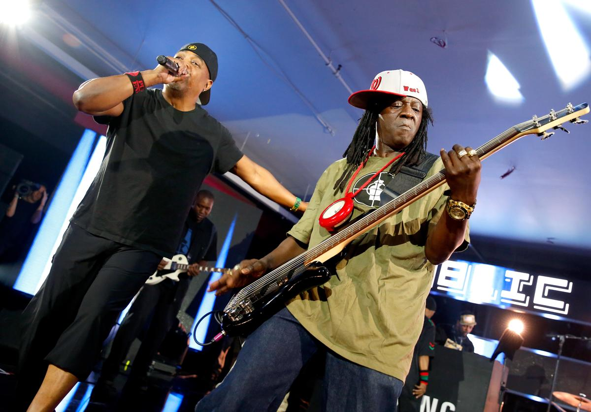 Public Enemy performing at SXSW 2016