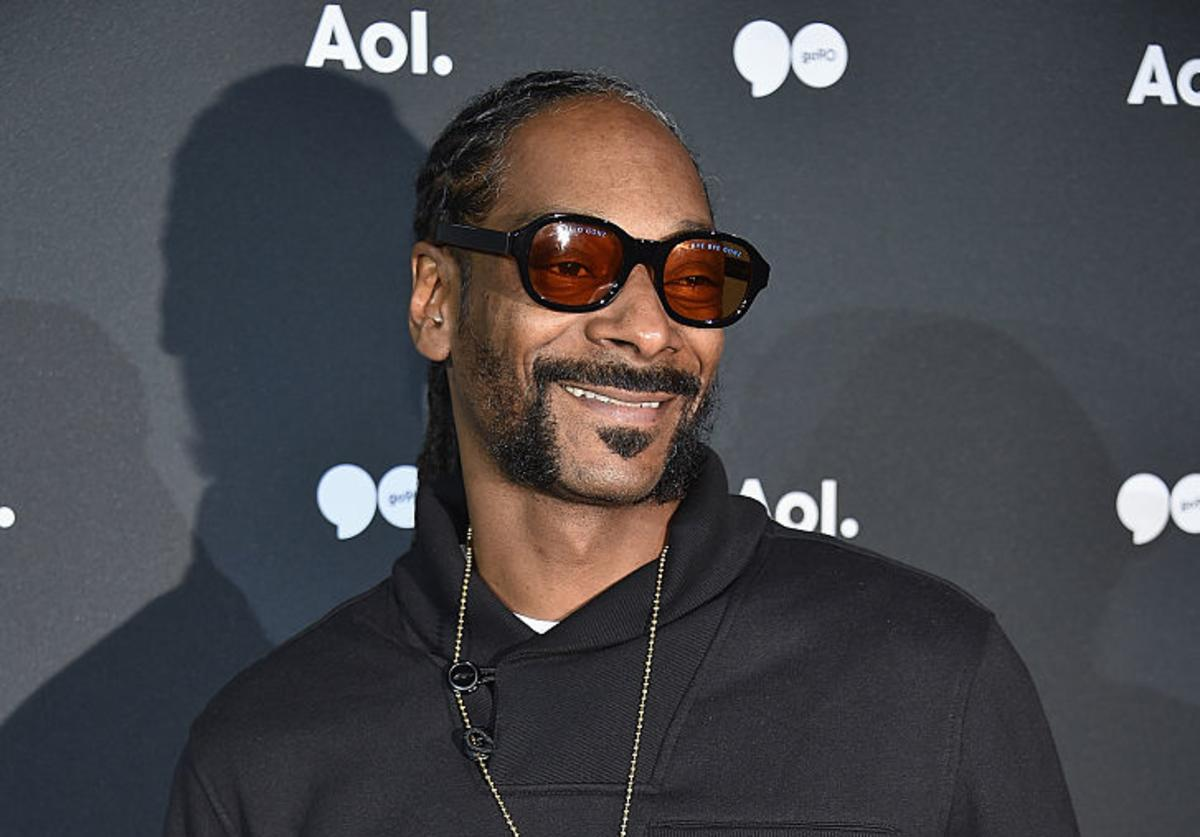 Snoop Dogg attends the AOL NewFront 2016 at Seaport District NYC on May 3, 2016 in New York City.