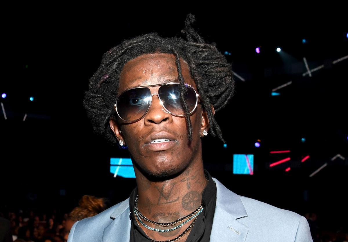 Young Thug at 2016 BET Awards