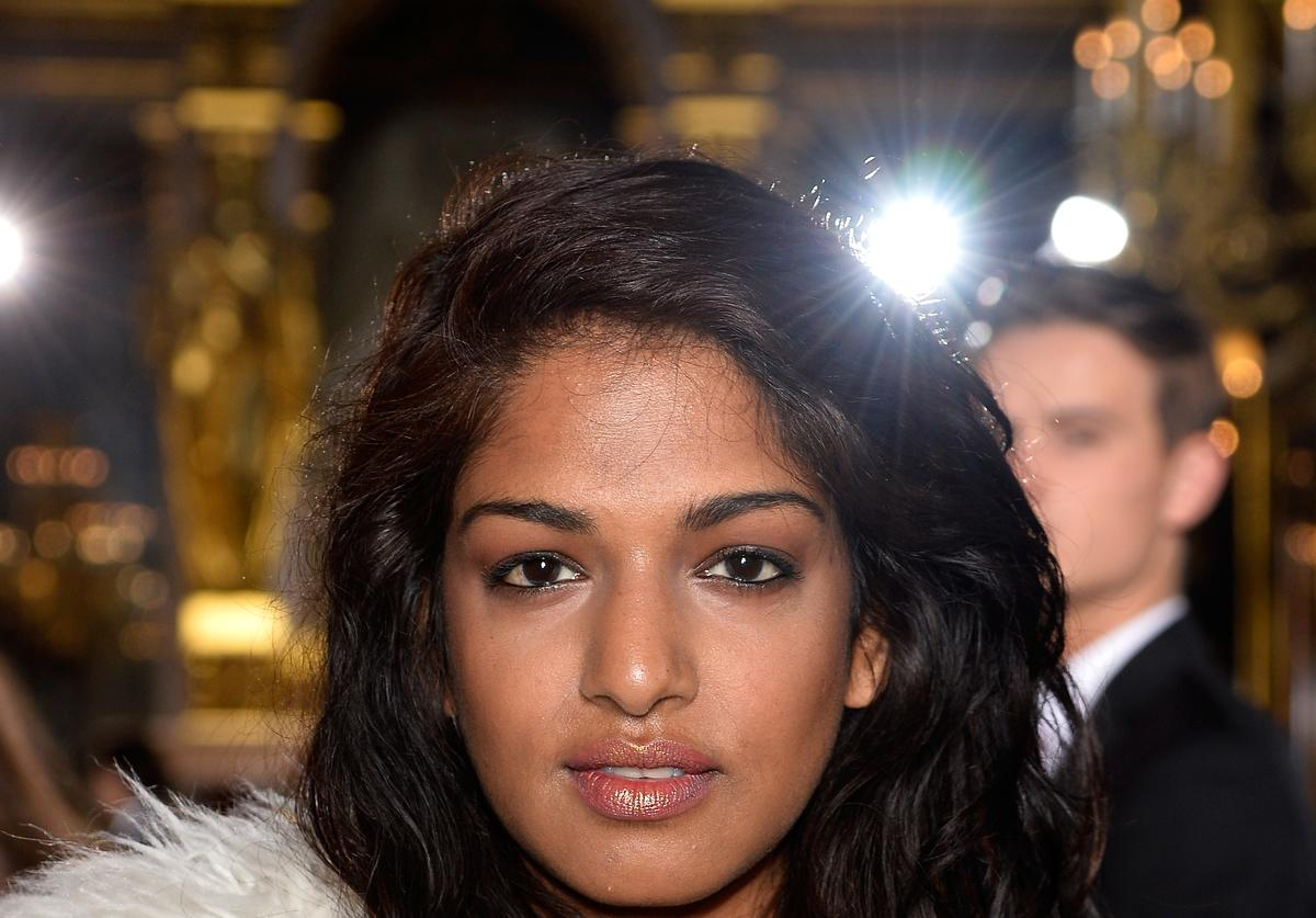M.I.A. at Stella McCartney Front Row - Paris Fashion Week