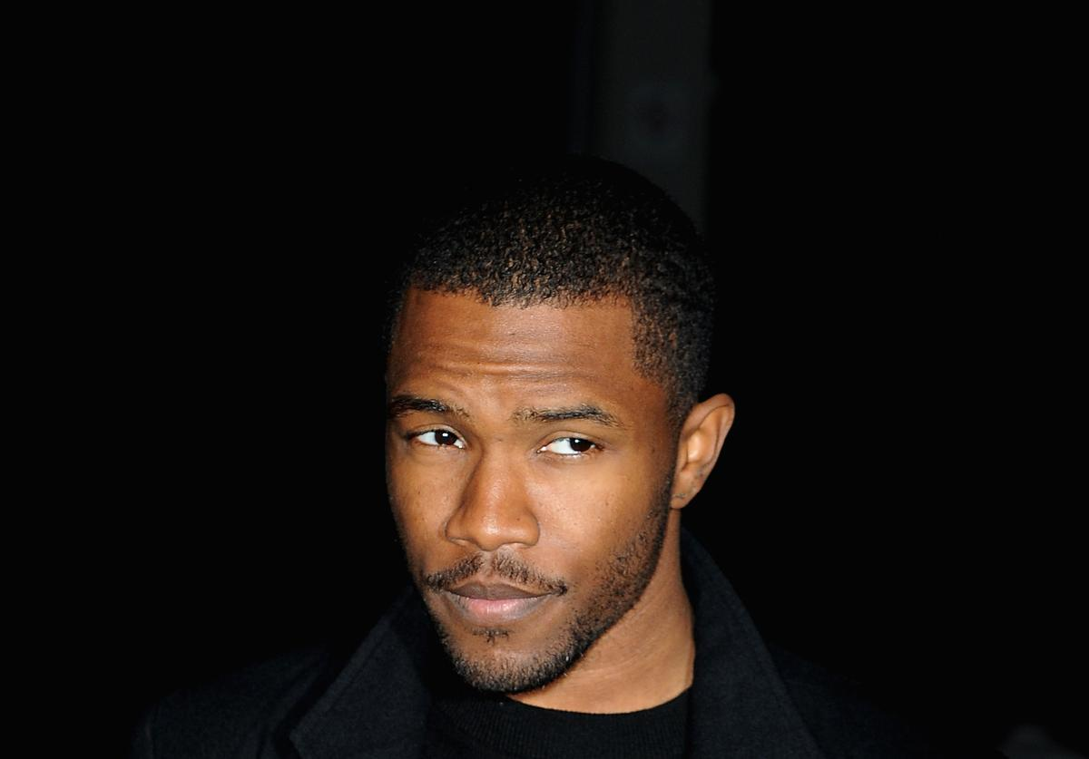 Frank Ocean at Paris Fashion Week 2013