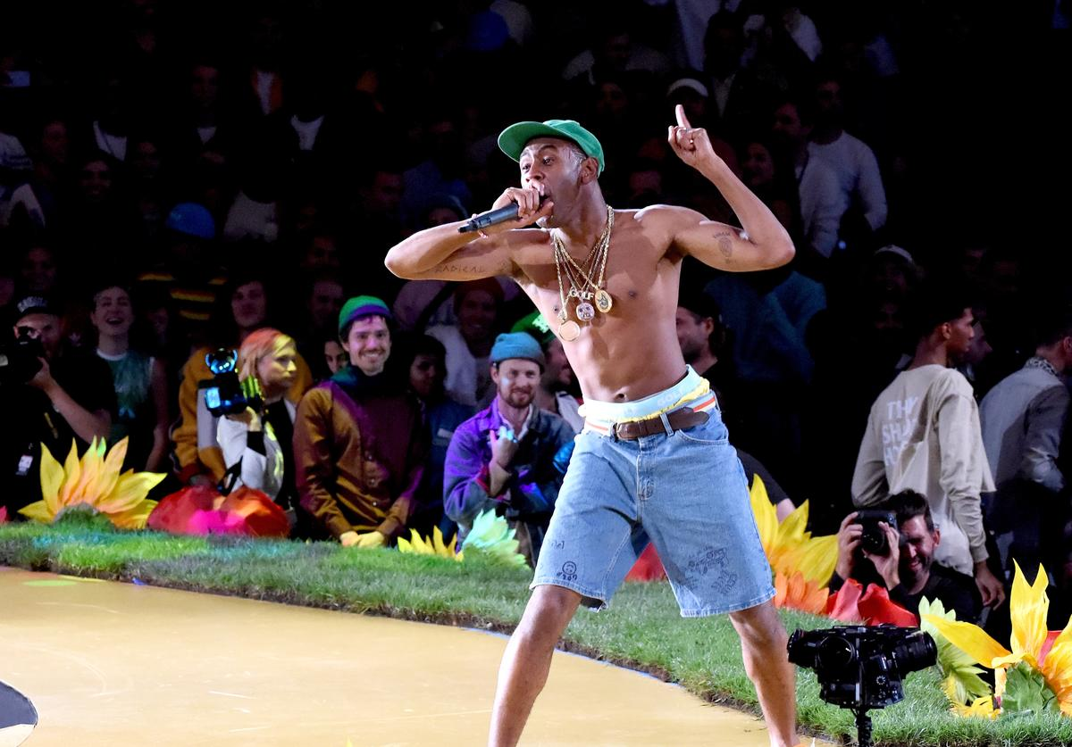 Tyler the Creator at MADE LA show
