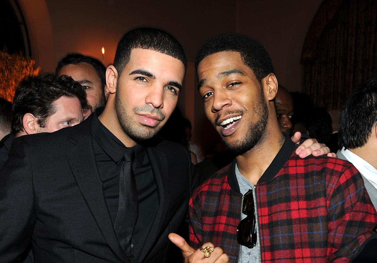 Kid Cudi and Drake in 2010