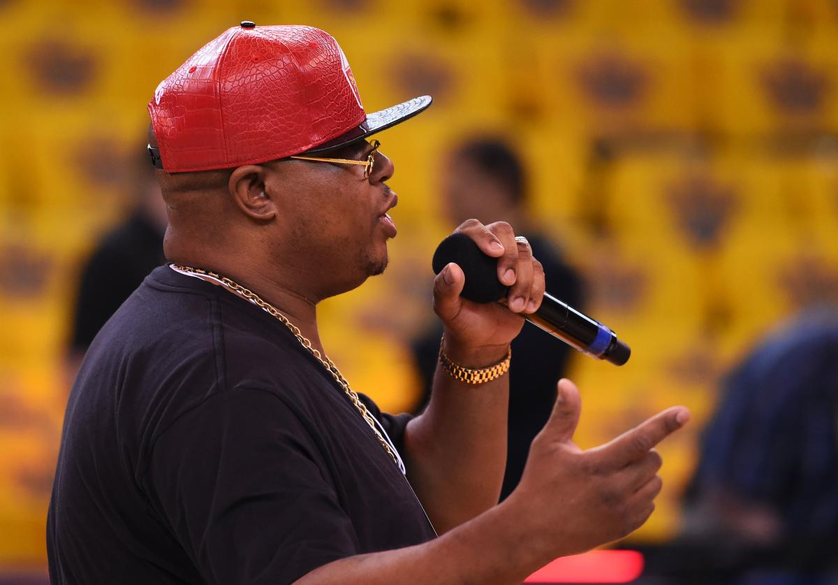 E-40 at 2015 NBA Finals