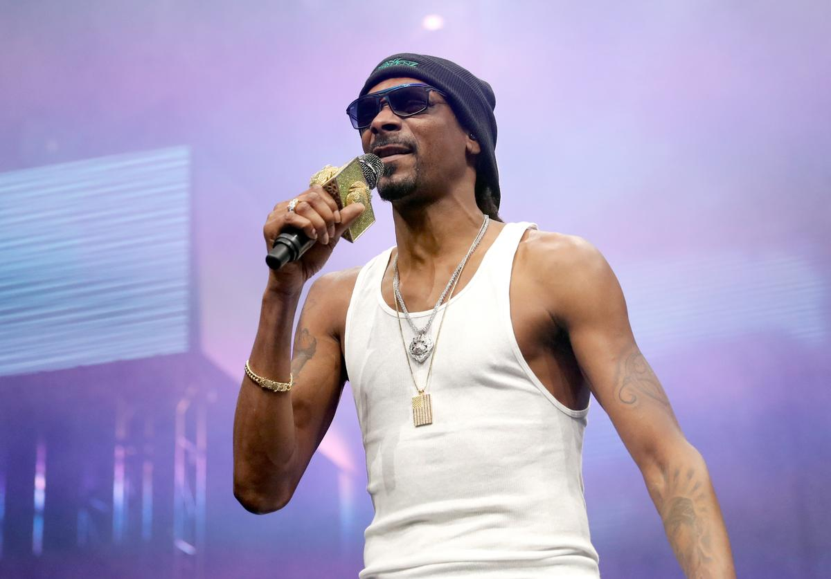 Snoop Dogg at Call Of Duty XP event