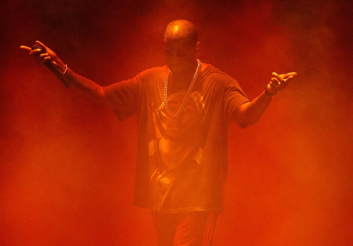 Kanye West at Meadowlands