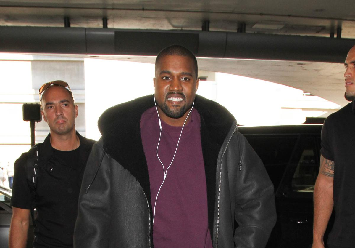 Kanye West out and about in LA
