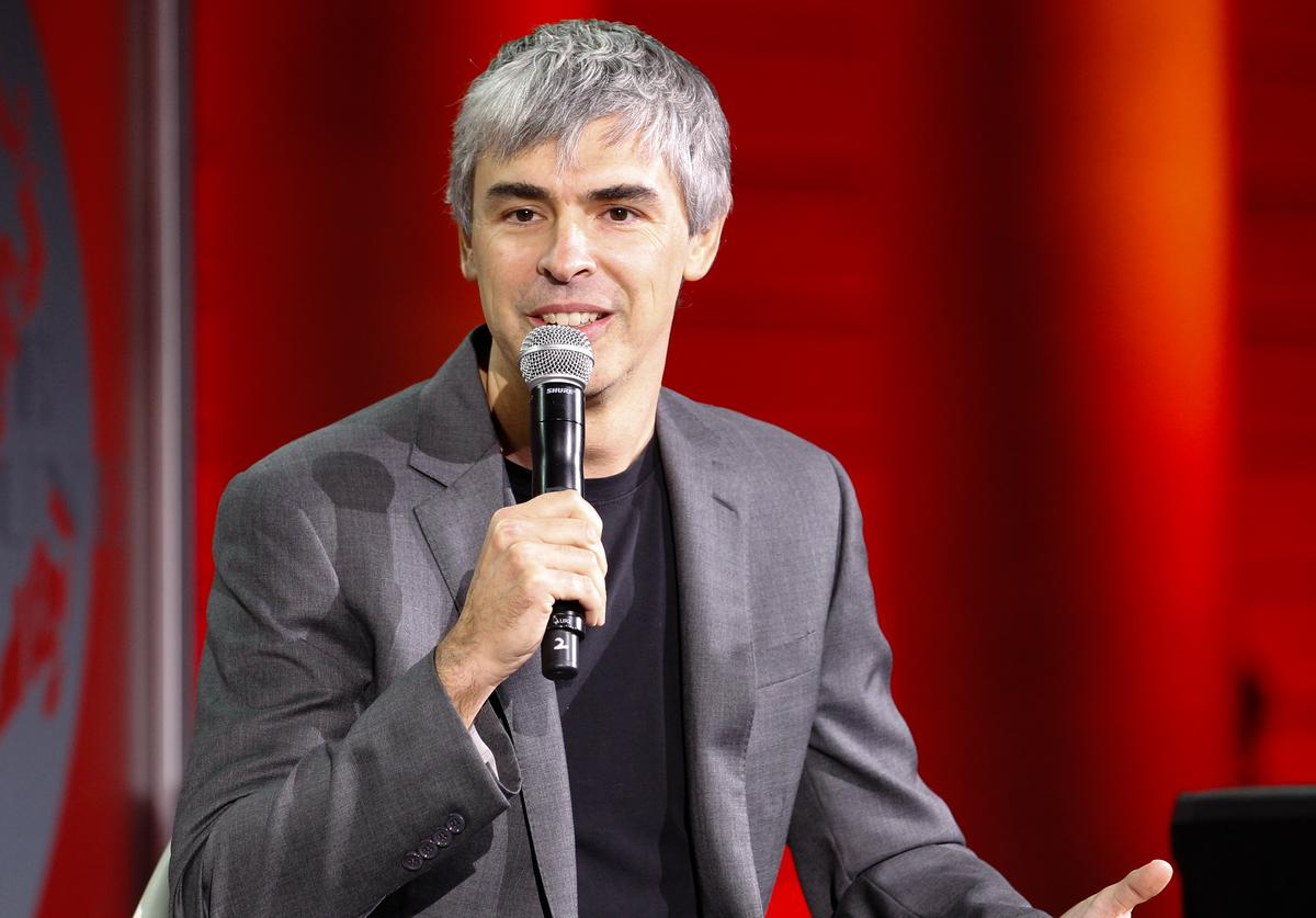 Larry Page speaks during the Fortune Global Forum at the Legion Of Honor on November 2, 2015 in San Francisco, California.