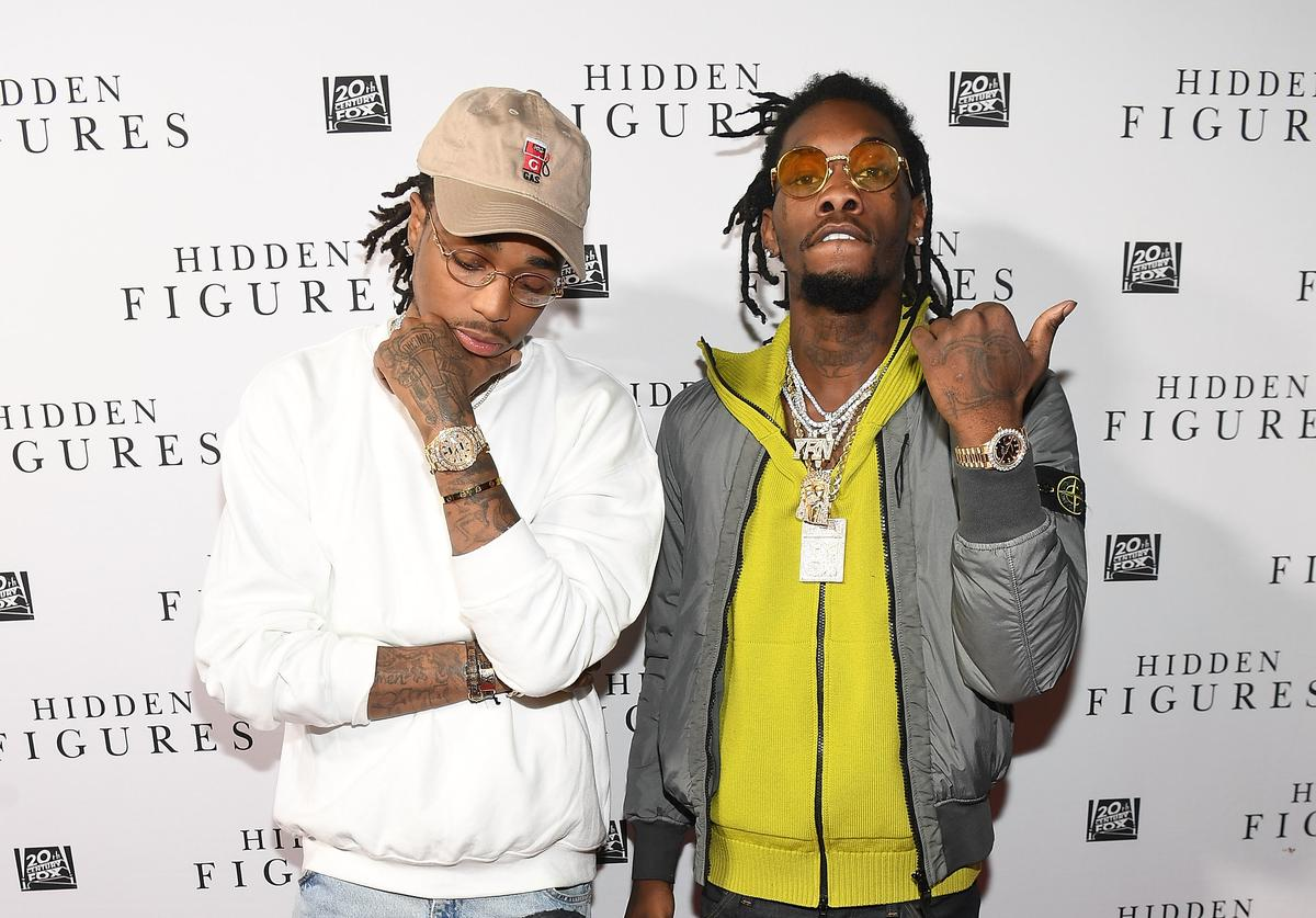 Quavo and Offset at Hidden Figures soundtrack listening party