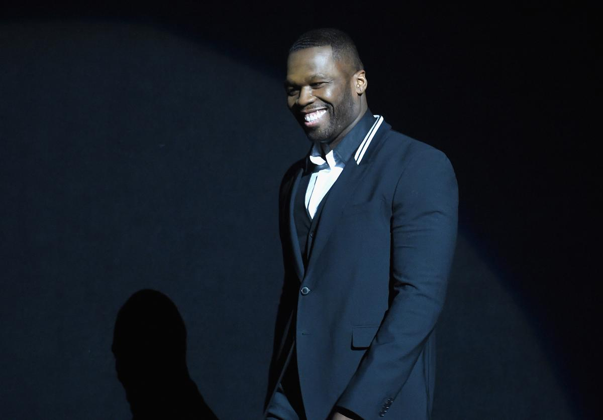 50 Cent CinemaCon 2015 - 20th Century Fox Invites You To A Special Presentation Highlighting Its Future Release Schedule