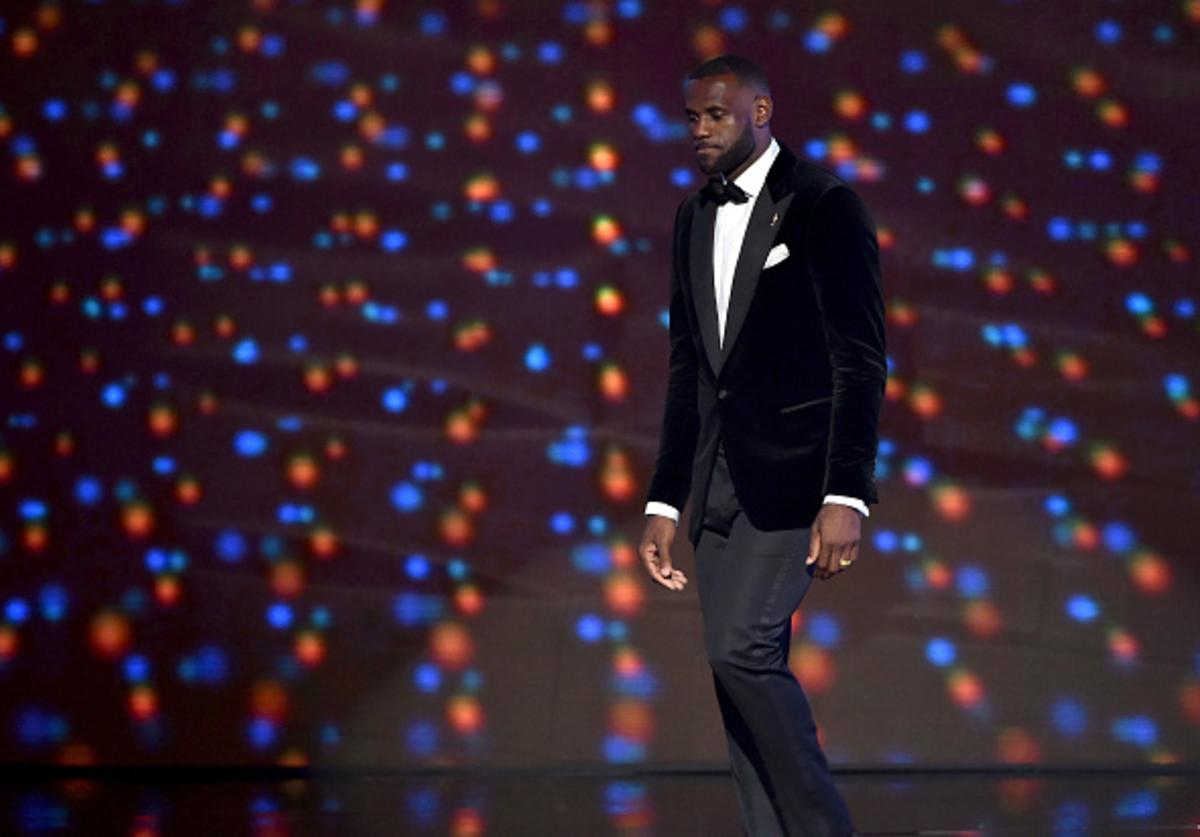 LeBron at the ESPYS