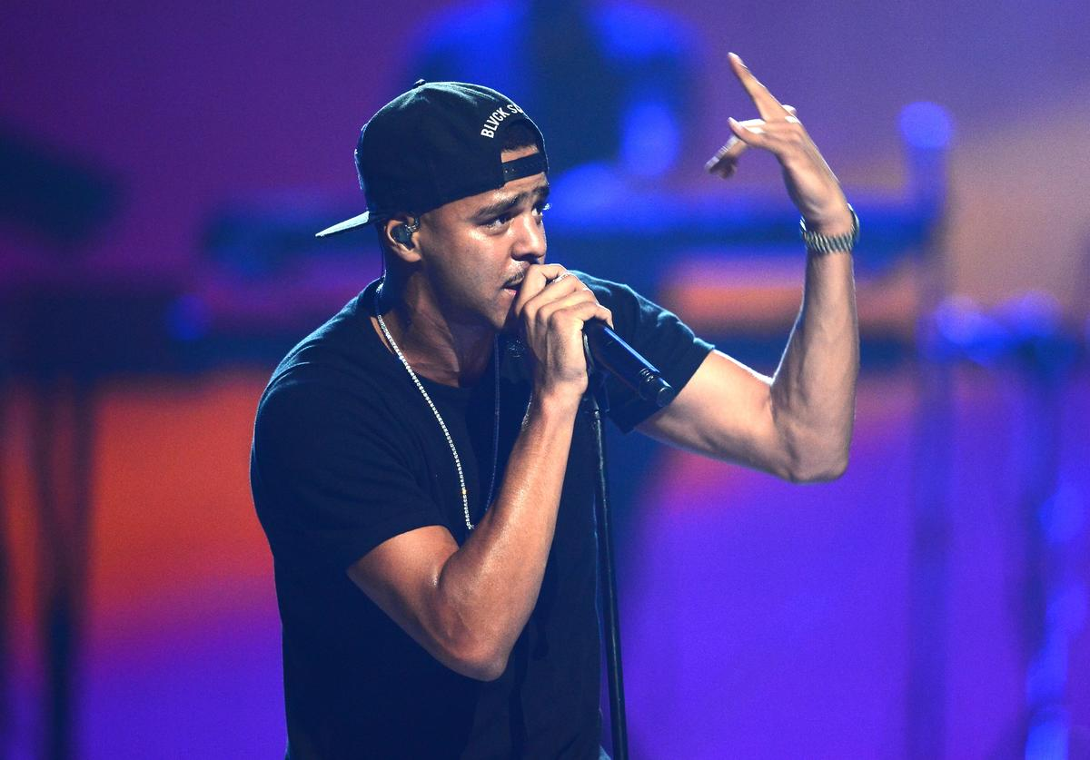 J Cole iHeartRadio Music Festival - Day 1 - Show