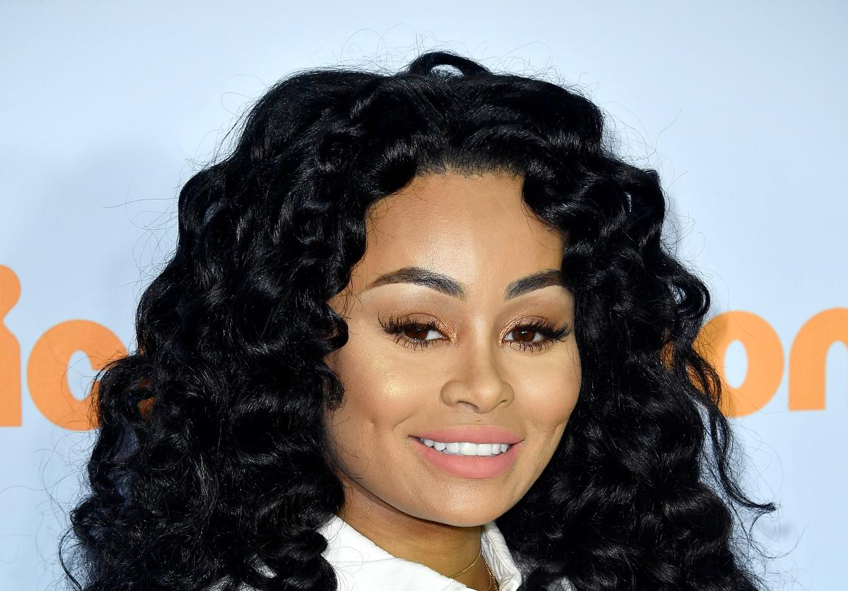 Blac Chyna at 2017 Nickelodeon Awards