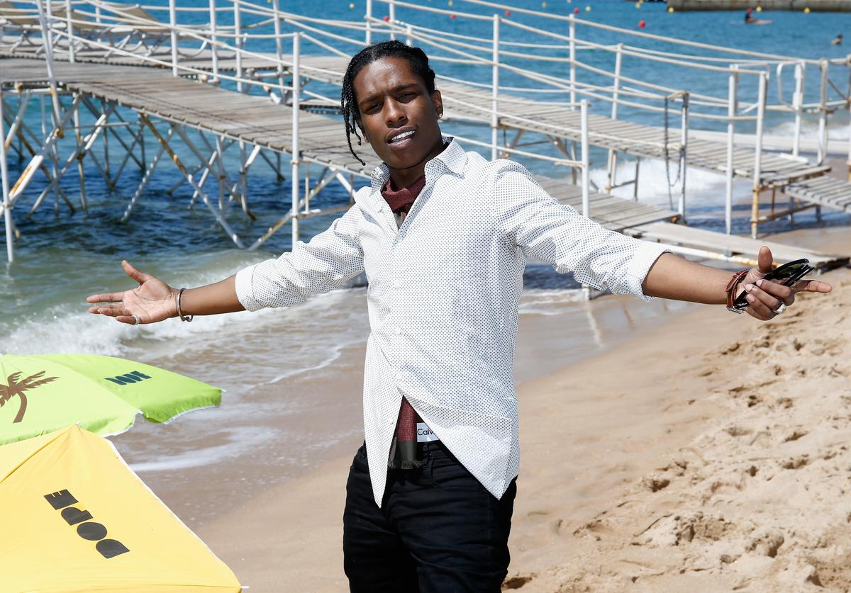 A$AP Rocky 'Dope' Photocall - The 68th Annual Cannes Film Festival