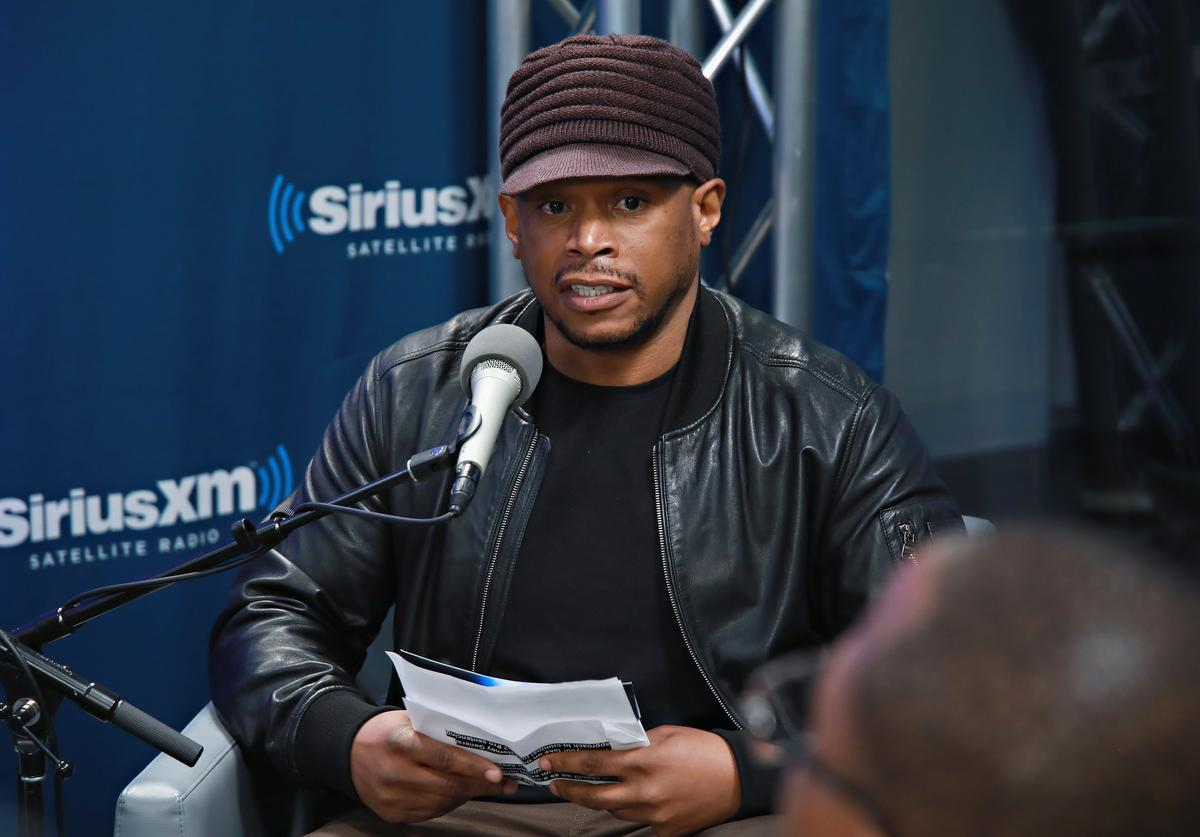 Sway Discusses The Prison Tech Training Program 'The Last Mile' With Founders Chris Redlitz And Beverly Parenti During A SiriusXM Town Hall