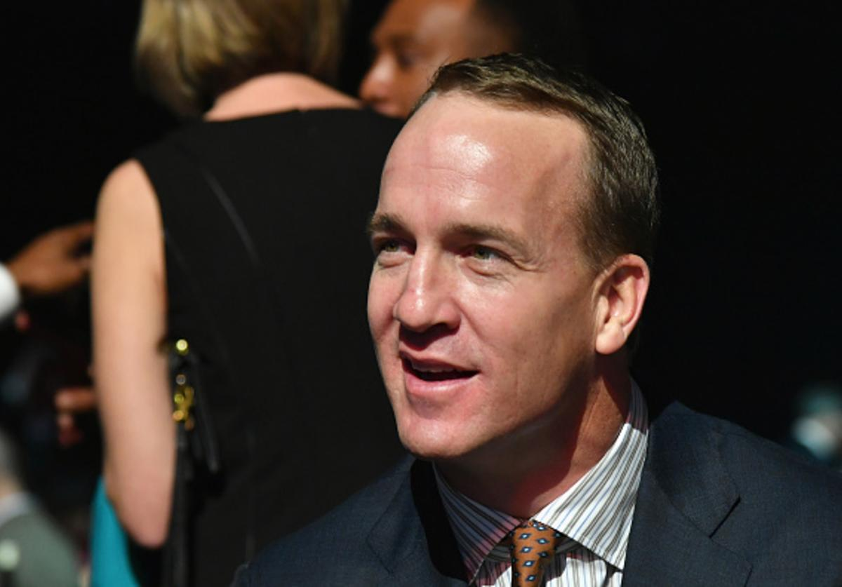 Manning attends the Sports Illustrated Sportsperson of the Year Ceremony