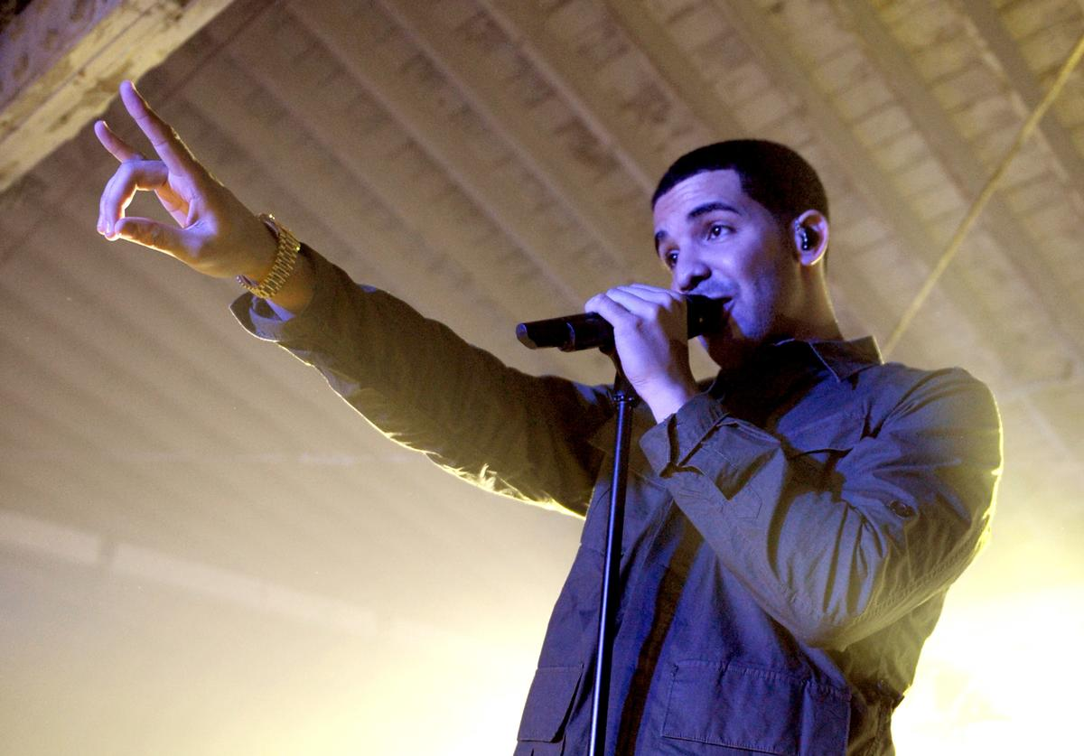 Drake Google And T-Mobile Celebrate The Launch Of Google Music At Mr. Brainwash Studio In Los Angeles - Inside