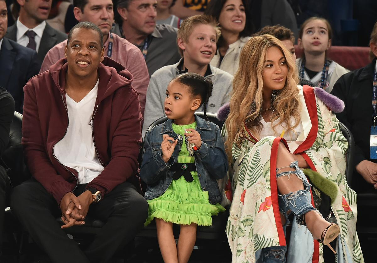 Celebrities Attend The 66th NBA All-Star Gamev