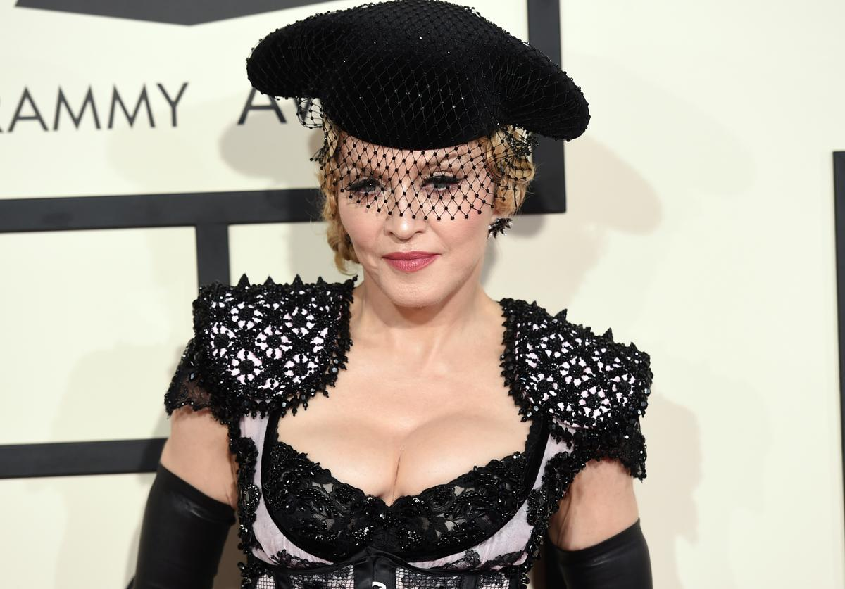 Madonna 57th GRAMMY Awards - Arrivals