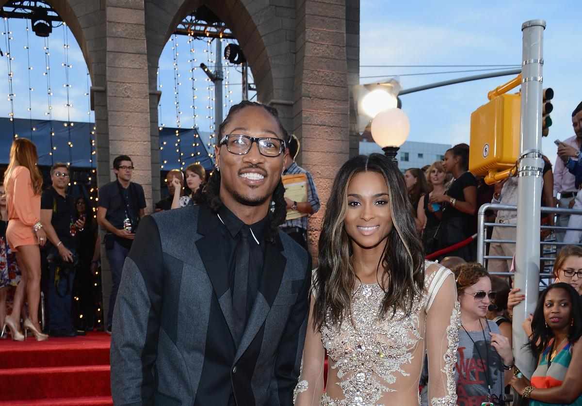 Ciara 2013 MTV Video Music Awards - Red Carpet