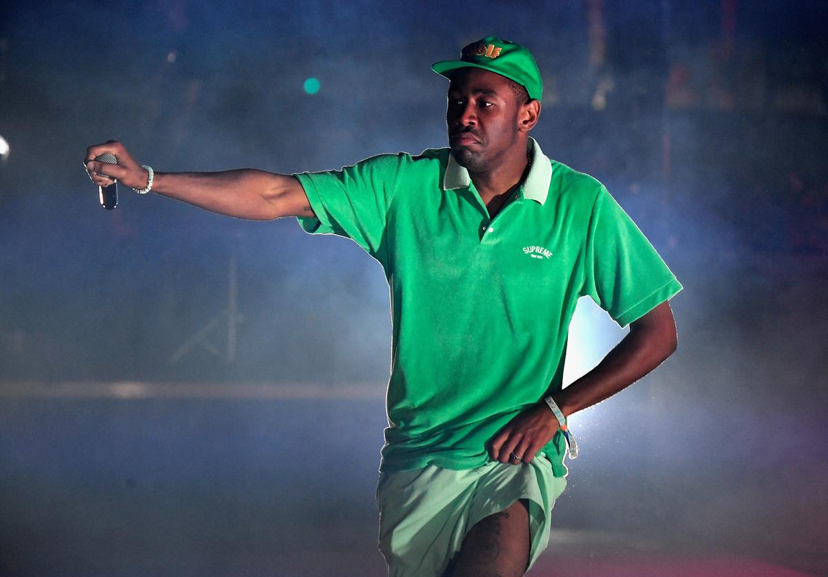 Tyler The Creator on stage