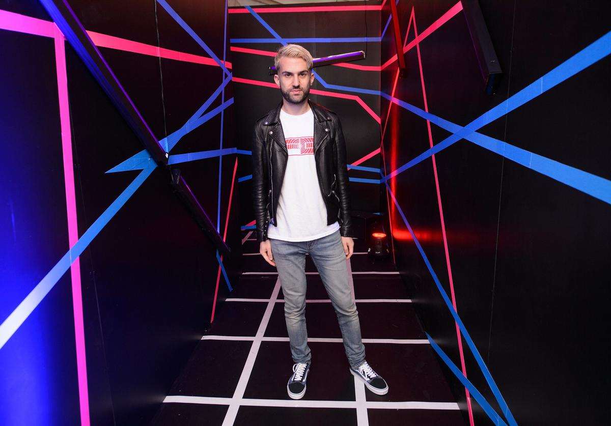 A-Trak Visits The Pepsi Zero Chill House At Lollapalooza In Chicago