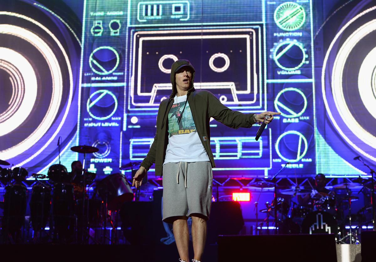 Eminem 2014 Lollapalooza - Day 1