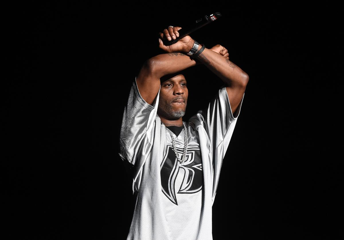 DMX performs at Diddy's Bad Boy reunion Concert