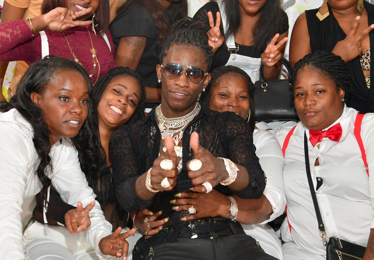 Young Thug Celebrates 25th Birthday And PUMA AW16 Campaign Release In Atlanta