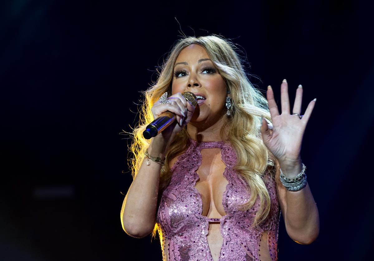 Mariah Carey at 2016 ESSENCE Festival