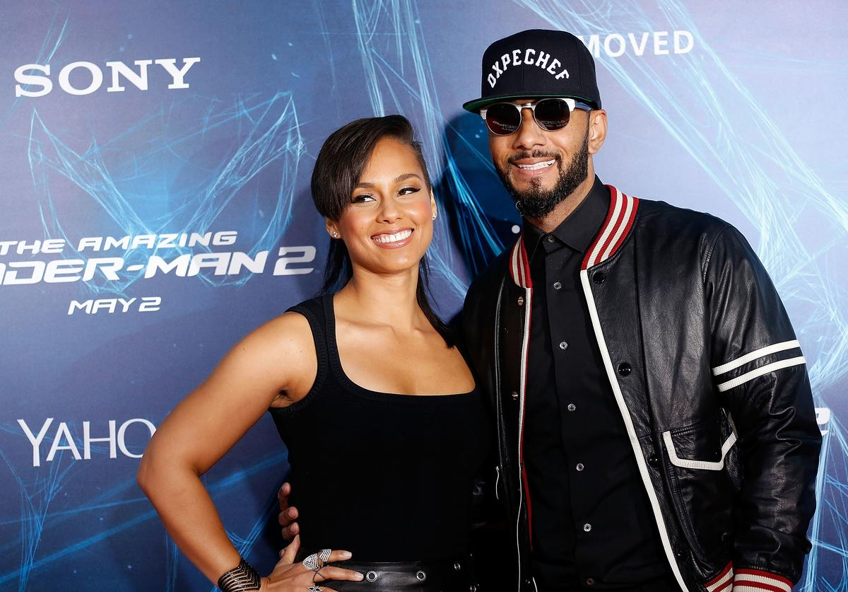 Alicia Keys & Swizz Beatz