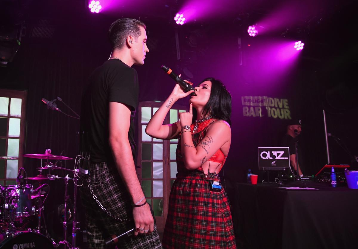 G-Eazy & Halsey in New Orleans