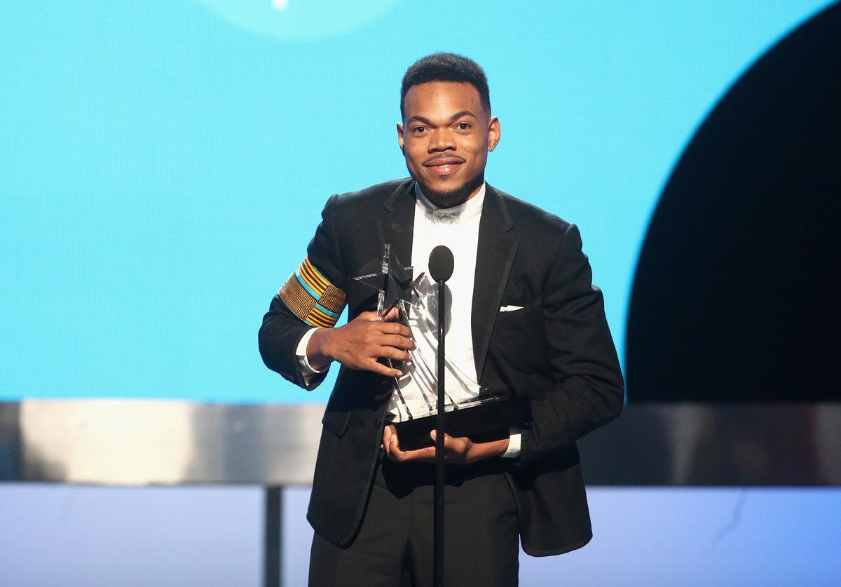Chance The Rapper at BET Awards