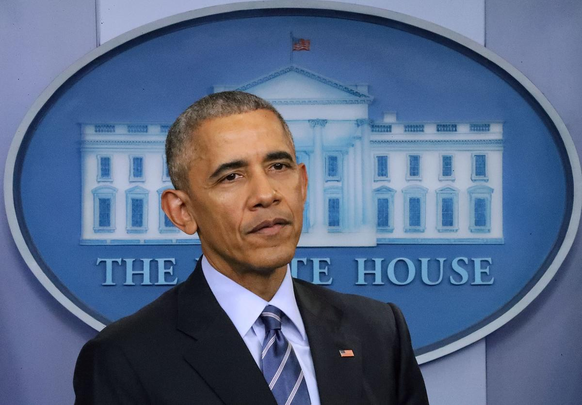 Barack Obama Holds Year-End Press Conference
