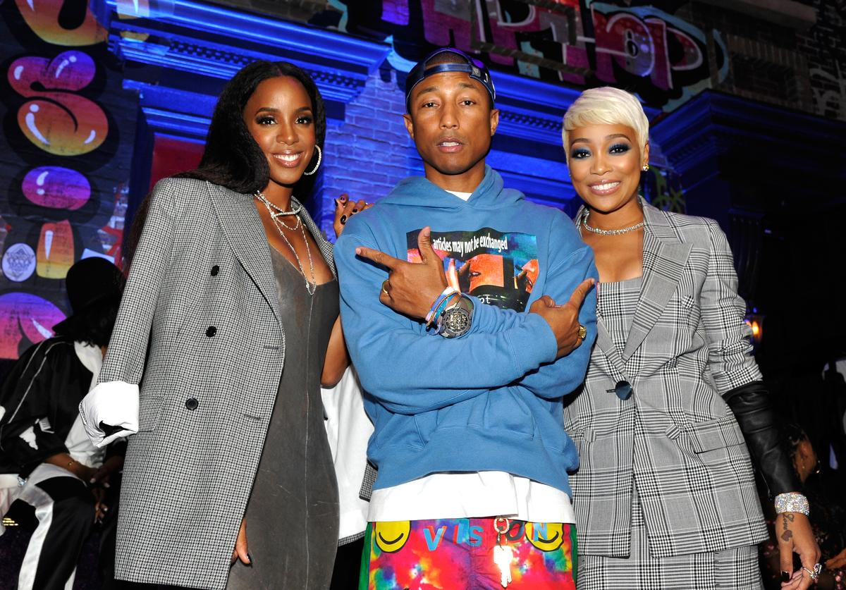 Pharrell & Kelly Rowland at VH1 Hip Hop Honors