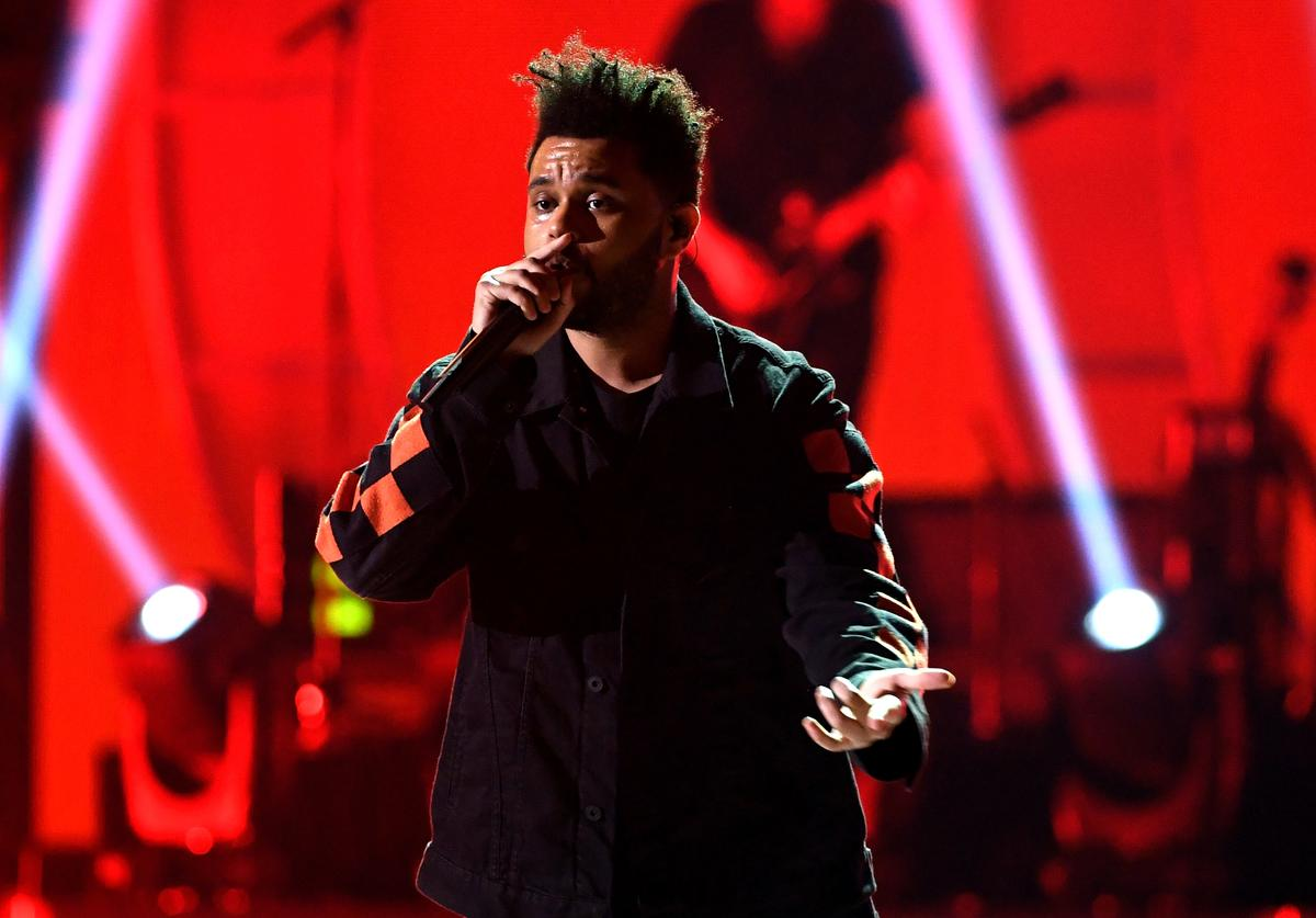 The Weeknd at IHeart Radio Festival