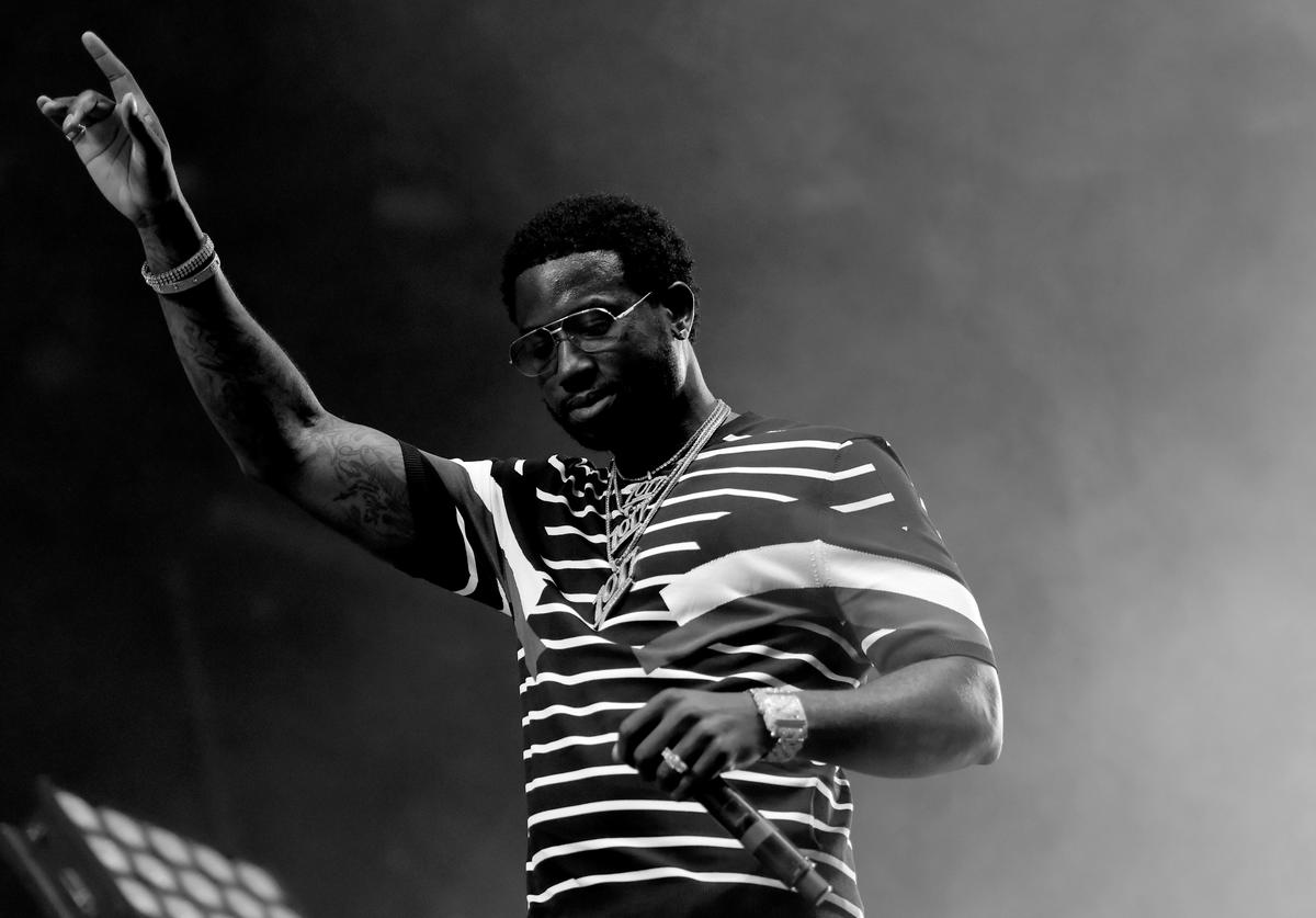 Gucci Mane on stage