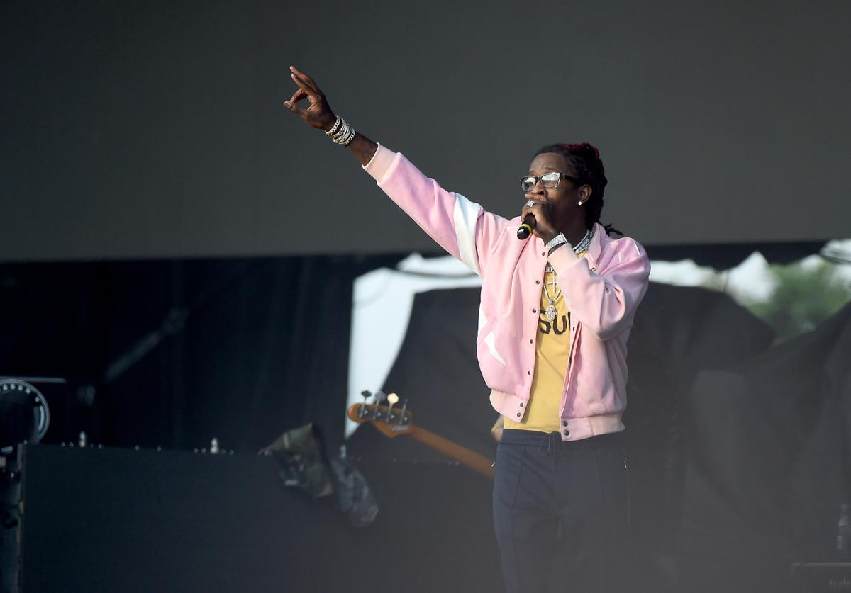 Young Thug at The Meadows Music Fest