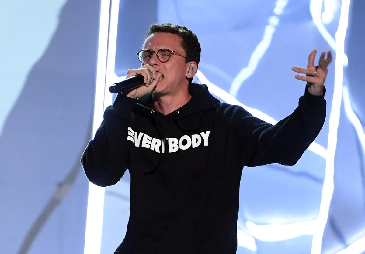 Logic performs at 2017 MTV VMA's