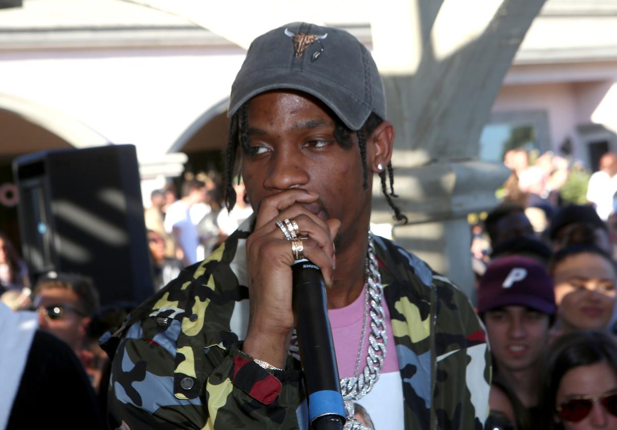 travis with mic