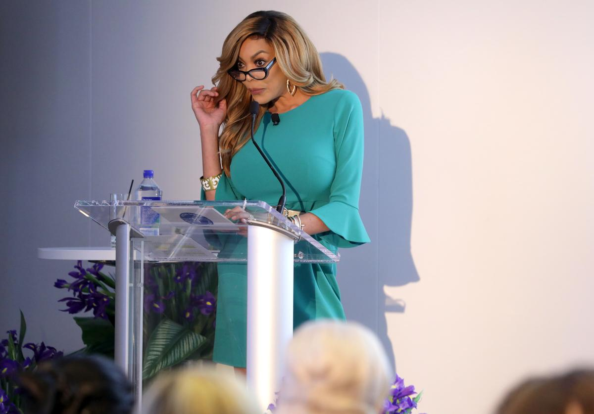 Wendy Williams at Vital Signs of Bowel Health Event