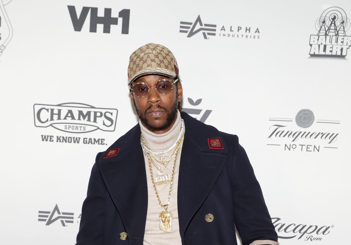 2 chainz at 2016 def jam holiday party