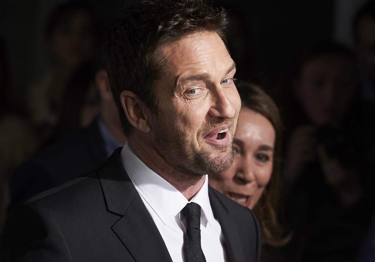 Gerard Butler Gerard Butler Presents 'Man Of Today' Campaign