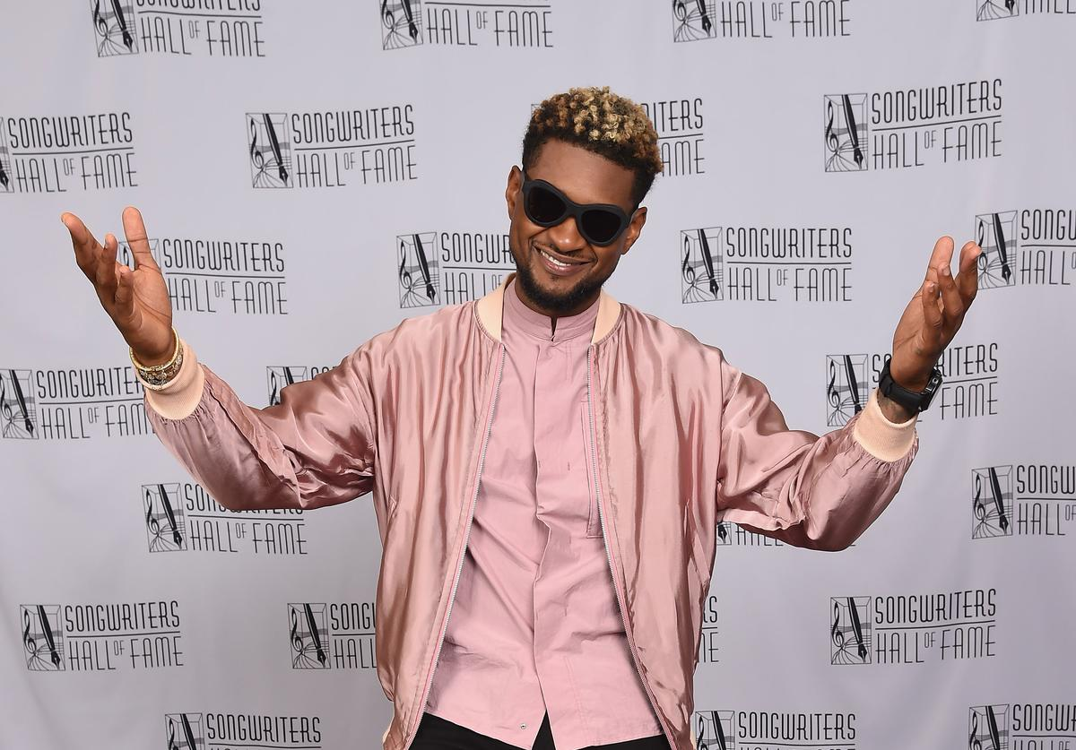 Usher at Song writers Hall of Fame
