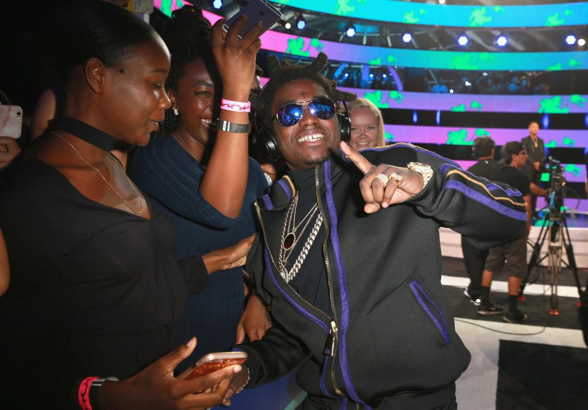 Kodak Black attends the 2017 MTV Video Music Awards at The Forum on August 27, 2017 in Inglewood, California