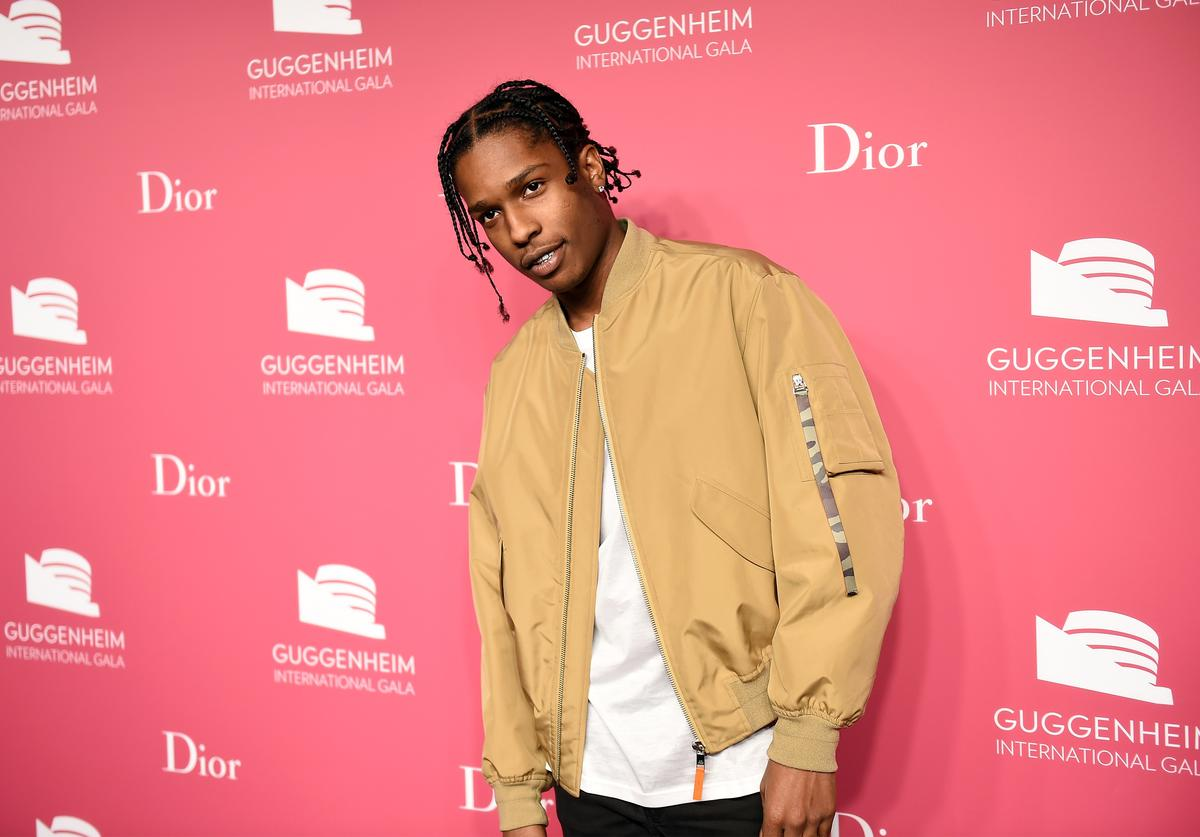 ASAP Rocky attends the 2015 Guggenheim International Gala Pre-Party made possible by Dior at Solomon R. Guggenheim Museum on November 4, 2015